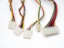 Empalmes eléctricos Imagen de archivo libre de regalías