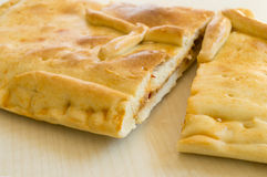 Empanada ένα χαρακτηριστικό πιάτο από τη Γαλικία Στοκ φωτογραφίες με δικαίωμα ελεύθερης χρήσης