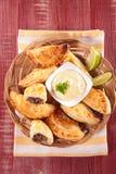 Empanada с говядиной Стоковое Изображение