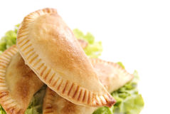 鸡empanada 免版税库存图片