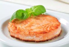 empanada Cacerola-frita de los pescados Fotografía de archivo libre de regalías