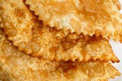 Empanada or Cheburek. Meat Pie Stock Images