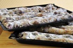 Empanada cocida al horno fresca Fotos de archivo libres de regalías