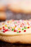 Empanada colorida. Fotos de archivo