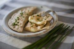 Empanada com queijo Imagem de Stock Royalty Free