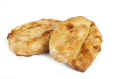 Empanada con queso Foto de archivo libre de regalías