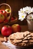Empanada de Apple imagenes de archivo