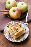 Empanada de Apple, aún vida. Imagen de archivo libre de regalías