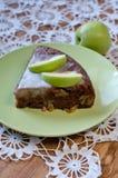 Empanada de Apple con cinamomo Foto de archivo