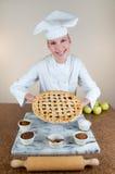 Empanada de Apple del panadero Fotografía de archivo libre de regalías
