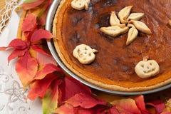 Empanada de calabaza Imagen de archivo