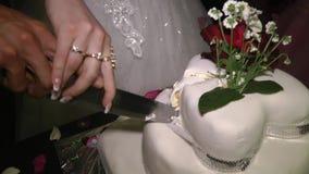 Empanada 8 de la boda almacen de video