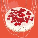 Empanada de la fresa del vector libre illustration