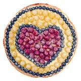 Empanada de la fruta. Imagenes de archivo