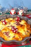 Empanada de la Navidad Foto de archivo