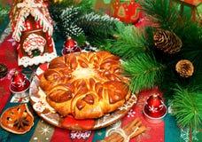 Empanada de la Navidad Imágenes de archivo libres de regalías