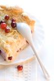 Empanada de los arándanos del postre Imagen de archivo