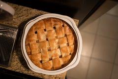 Empanada de manzana cocida al horno Imagen de archivo