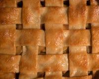 Empanada de manzana cocida al horno Foto de archivo