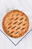 Empanada de manzana cocida al horno fresca Foto de archivo libre de regalías