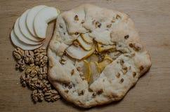 Empanada de manzana deliciosa Imágenes de archivo libres de regalías