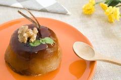 Empanada de manzana dulce Imágenes de archivo libres de regalías