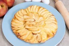 Empanada de manzana hecha en casa Imágenes de archivo libres de regalías