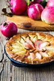 Empanada de manzana hecha en casa Fotografía de archivo libre de regalías