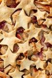 Empanada de manzana hecha en casa como fondo fotos de archivo libres de regalías