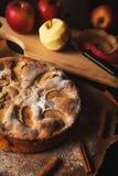 Empanada de manzana hecha a mano Fotos de archivo