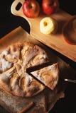 Empanada de manzana hecha a mano Imagen de archivo libre de regalías