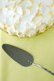 Empanada de merengue de limón Fotografía de archivo