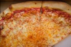 Empanada de pizza de Nueva York Foto de archivo