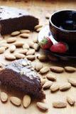 Empanada del chocolate Imagen de archivo libre de regalías