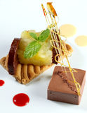 Empanada del chocolate Imagen de archivo