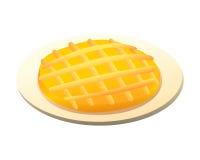 Empanada del desayuno Imagen de archivo