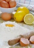 Empanada del limón. fotografía de archivo