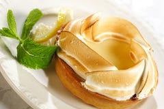 Empanada del limón de Delicios Fotografía de archivo libre de regalías