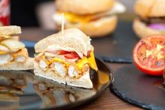 Empanada del pollo Fotos de archivo libres de regalías