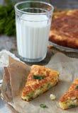 Empanada del queso Foto de archivo libre de regalías