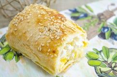 Empanada del queso imagen de archivo