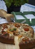 Empanada del tomate Imagenes de archivo