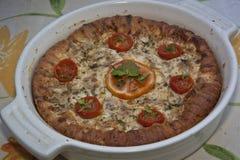 Empanada del tomate Imagen de archivo libre de regalías