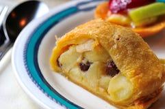 Empanada deliciosa de la fruta foto de archivo libre de regalías