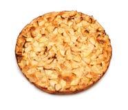 Empanada entera de la manzana de mesa foto de archivo