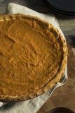 Empanada festiva hecha en casa de la patata dulce Imagen de archivo libre de regalías
