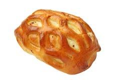 Empanada fresca deliciosa rellena con requesón Fotos de archivo