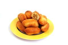 Empanada frita ucraniana Imagen de archivo libre de regalías