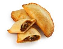 Empanada, grafico a torta di carne Immagini Stock Libere da Diritti