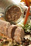 Empanada hecha de gansos foto de archivo libre de regalías